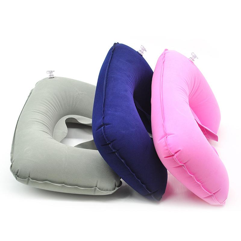 Travel Inflatable U Shaped Neck Pillow Funsuntravelstore